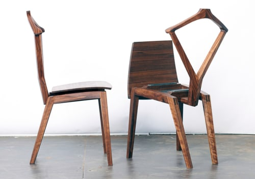 Chairs by Reed Hansuld at Reed Hansuld Fine Furniture, Brooklyn - Valet Chair No. 1