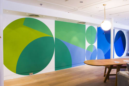 Art & Wall Decor by Charlie Oscar Patterson seen at The Conran Shop, London - Conran Shop Mural