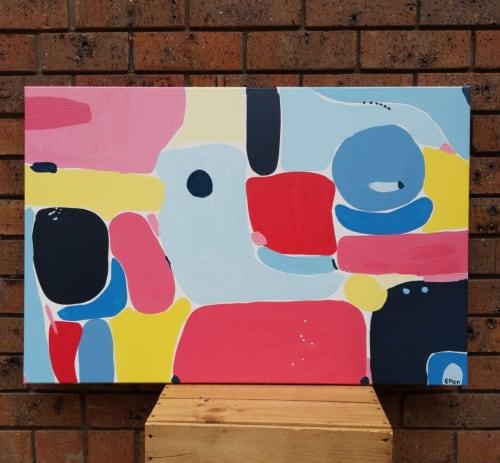Paintings by Ellen McKenna seen at Town Hall Gallery, Hawthorn - Gentle Sway