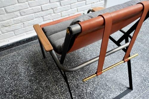 Chairs by Prototyp& seen at Prototyp& Studio, Sumarezinho - Trevo Drink easy chair