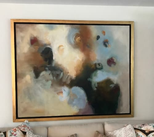 Paintings by Cecilia Arrospide seen at Private Residence - Lima, Peru, Lima - EARTH