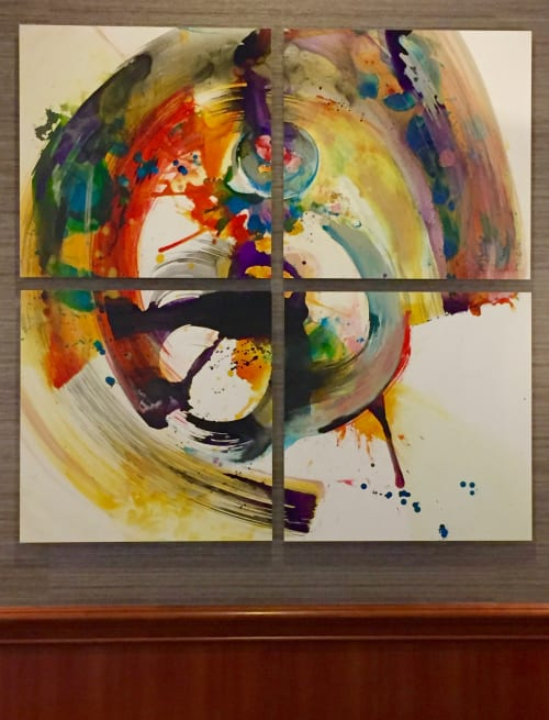Paintings by Patter Hellstrom Visual Art seen at San Francisco, CA, San Francisco - Commissions