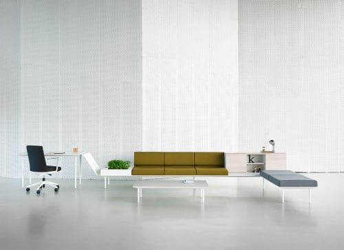 Couches & Sofas by Ramos+Bassols seen at Barcelona, Barcelona - Longo soft system by Actiu in Barcelona