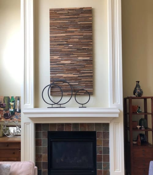 Wall Hangings by Craig Forget seen at Private Residence, West Chester - Wood Art