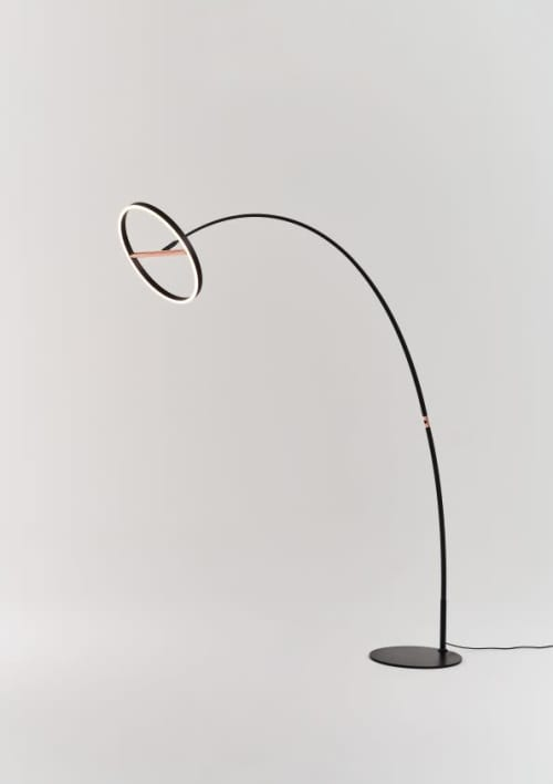 Lamps by SEED Design USA seen at 858 Lind Ave SW, Renton - SOL Mega Floor Lamp