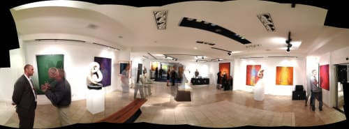 Art Curation by Heidi Thompson Canadian Artist seen at La Jolla, San Diego - Alexander Salazar Contemporary Art Gallery