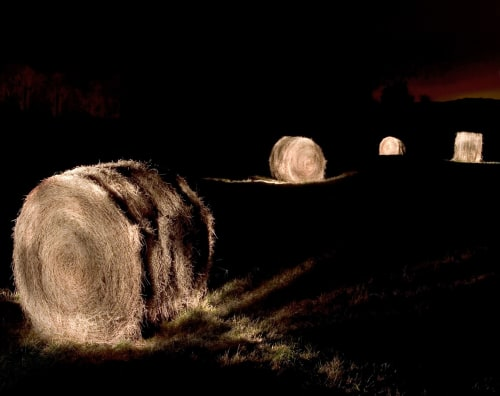 """Hay Bales #4, 48"""" x 62"""" ed.4 