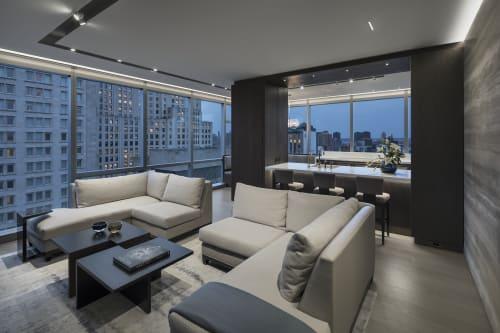 Interior Design by Shari Pellows Interiors seen at Private Residence, New York - Manhattan High Rise
