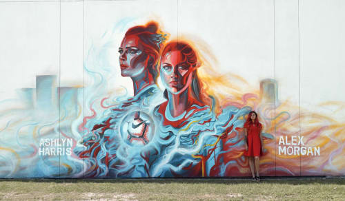 Shumaker Art - Murals and Street Murals