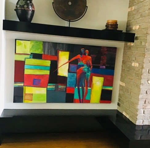 Paintings by Anne Peterson seen at Private Residence, Eagle - Painting