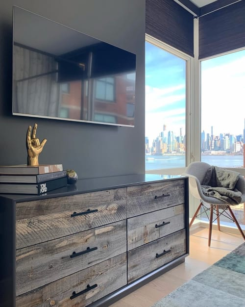 Furniture by ModShop seen at Private Residence - Hoboken, Hoboken - Cody Dresser with Grey Reclaimed Wood