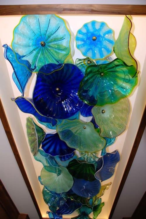 Lighting Design by Rick Strini seen at Private Residence, Wailea-Makena - Glass Ceiling,  Wailea