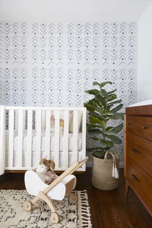 Interior Design by Popix Designs seen at Private Residence, Los Angeles - A Whimsical Nursery