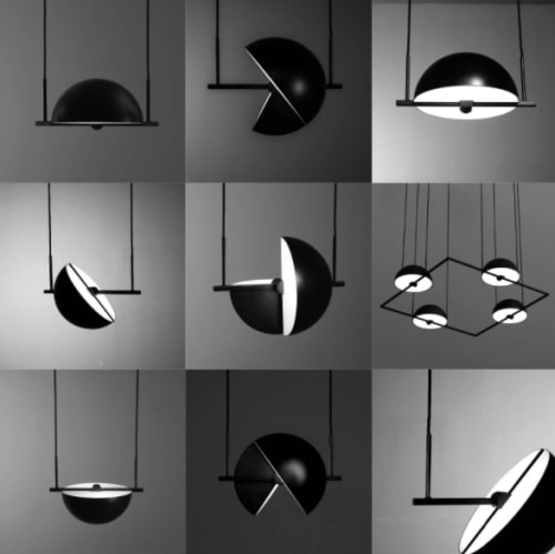 Pendants by Jette Scheib seen at Private Residence - Trapeze Triplette pendant