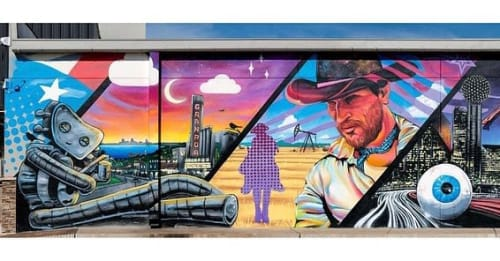 Michael McPheeters - Murals and Art