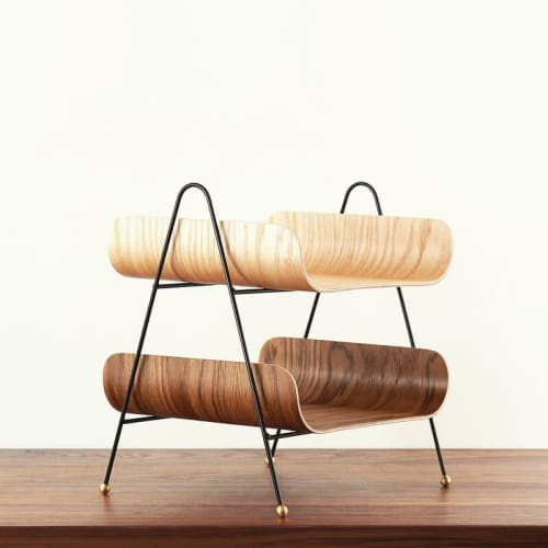 Furniture by ONEFORTYTHREE seen at Private Residence, Henderson - Desk Organizer