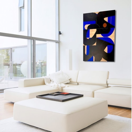 Paintings by TS ModernArt Studio seen at Private Residence, Los Angeles - City of Angels