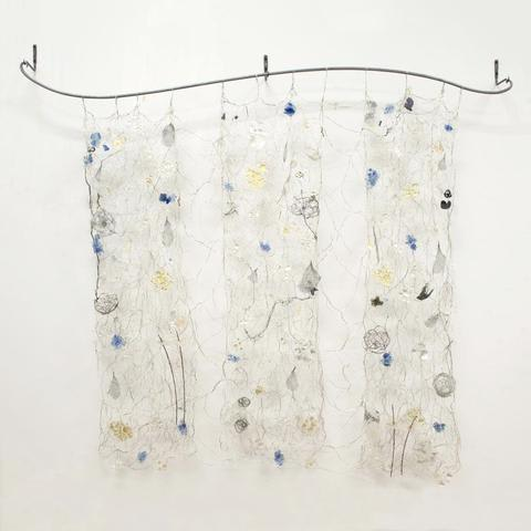 """Glass Tapestry """"Vitro""""   Wall Hangings by Susan Freda"""