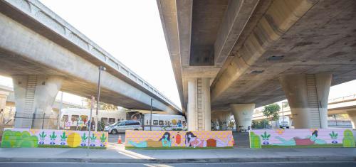Street Murals by Nikkea Misa Takagi seen at San Jose, San Jose - Mural