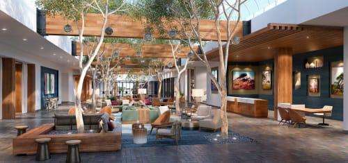 Interior Design by Puccini Group at Portola Hotel & Spa at Monterey Bay, Monterey - Interior Design