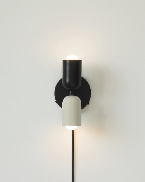 Sconces by In Common With seen at In Common With Studio, New York - Up Down Sconce