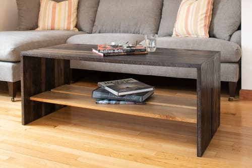 Tables by Ogelby Woodworks seen at Private Residence, Montclair - Tannic Coffee Table