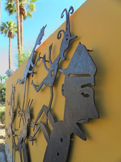 Chasing Zoe: Streetscape   Sculptures by John Randall Nelson