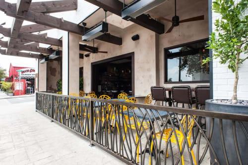 Architecture by Legion Metals seen at 219 Main St, El Segundo - Sausal Restaurant and bar