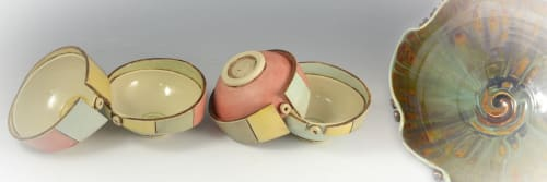 Geometric Illusion Ceramics (Tania Rustage) - Tableware and Planters & Vases