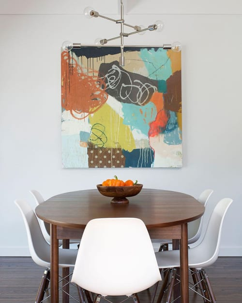 Paintings by Bibby Art seen at Private Residence, Corte Madera - Painting