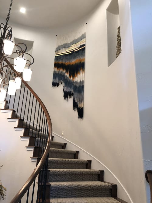 Wall Hangings by Lauren Williams seen at Private Residence, Austin - Commissioned Tapestry