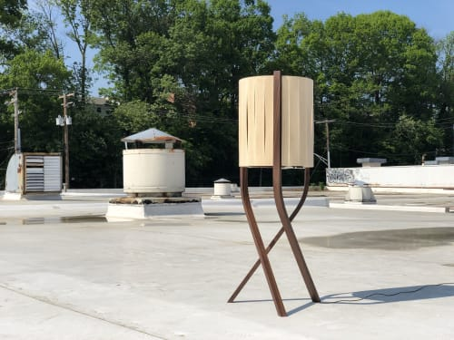 Lamps by Designed with Purpose seen at Private Residence, Baltimore - Triad Floor Lamp