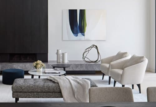 Art Curation by Agneta Ekholm seen at Private Residence | Melbourne, VIC, Melbourne - A Collaboration between Est Living and King Living Styling by Swee Design and Anna Krince from Established for design.