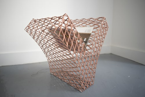 Furniture by Hannah Fink at Hannah Fink Studio, Brooklyn - Magazine Rack