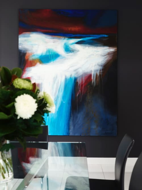 Paintings by Guy Hawson seen at Private Residence, Sydney - Waterfall
