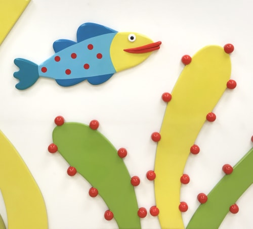 Art & Wall Decor by Gannon Ogilvie seen at East Tennessee Children's Hospital, Knoxville - Aquarium