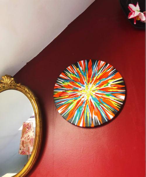 Paintings by Touko Mizuki seen at Private Residence, Paris - Karma