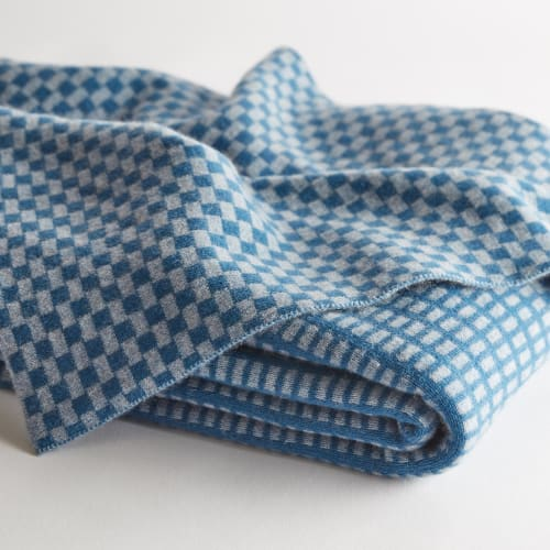 Linens & Bedding by Nzuri Textiles seen at Creator's Studio, Nevada City - Cashmere Blanket
