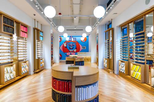 Warby Parker x Yeye Weller | Murals by Yeye Weller