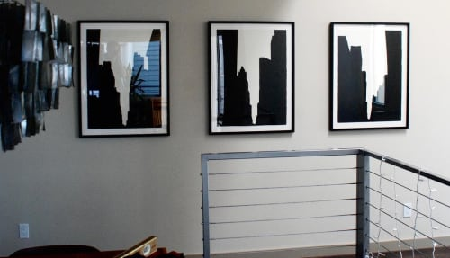 Paintings by Mario M. Muller seen at Private Residence, El Segundo - UrbanCanyons, 2001-5