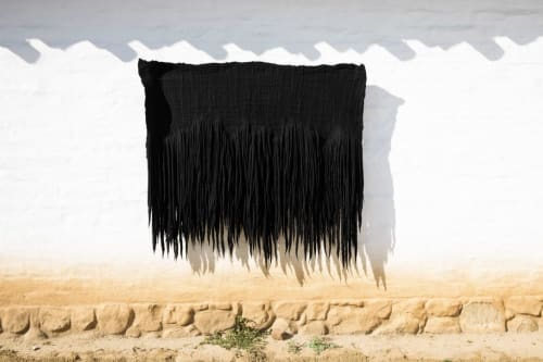 Wall Hangings by Taiana Giefer seen at Private Residence, Santa Barbara - Seed No.808: Matter A