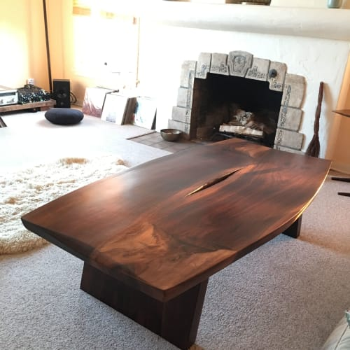 Tables by Acuña Designs seen at Private Residence, Ventura - Shark Egg