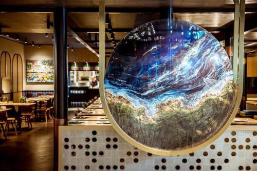 Art & Wall Decor by Agape seen at BEP Vietnamese Kitchen - Resin Art