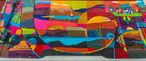 Kajaman - Street Murals and Public Art