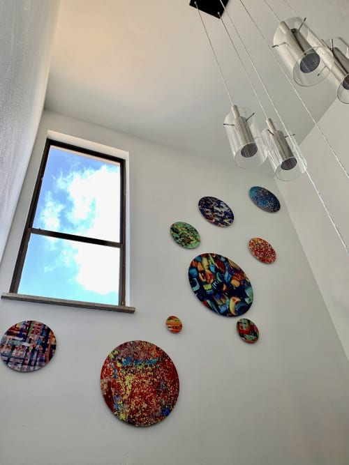 Wall Hangings by Natalie Ventimiglia seen at Private Residence, Denver - Energy Healing Circles