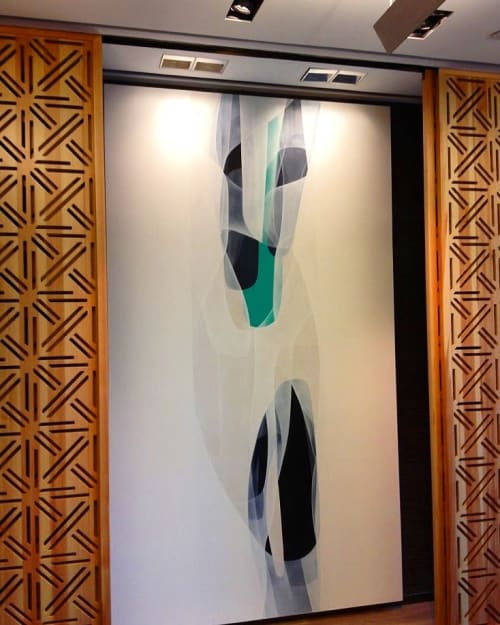 Paintings by Agneta Ekholm seen at Mandarin Oriental, Guangzhou, Guangzhou Shi - Untitled