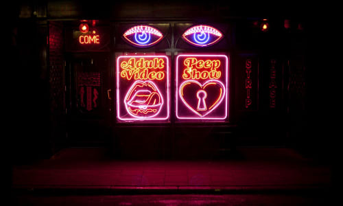 Signage by Farewell NYC seen at La Bodega Negra, London - Neon Signage