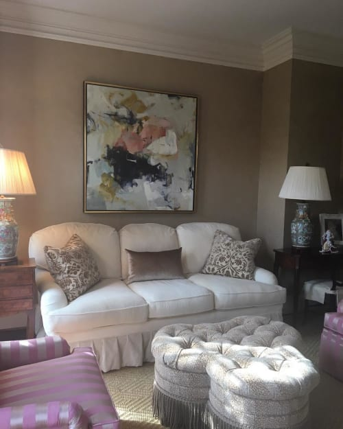 Paintings by Eileen Power Fine Art seen at Private Residence, Charlotte - Painting