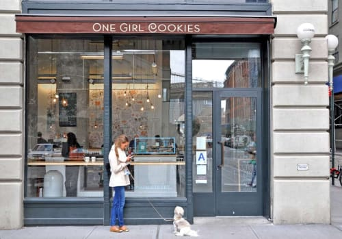 One Girl Cookies (Dumbo), Bakeries, Interior Design