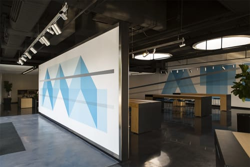 Murals by christopher derek bruno at Google Fiber Space, Atlanta - Google Fiber ATL
